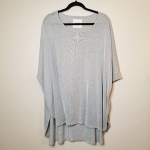 By Together You & I Over Sized SZ L Tunic Shirt